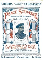 Bolton Peace Souvenir 1919comp
