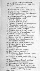 Slater's Street Directory 1906
