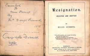 Resignation book