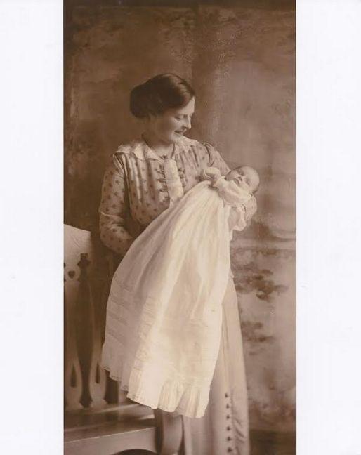 & his widow Maude & daughter Pauline