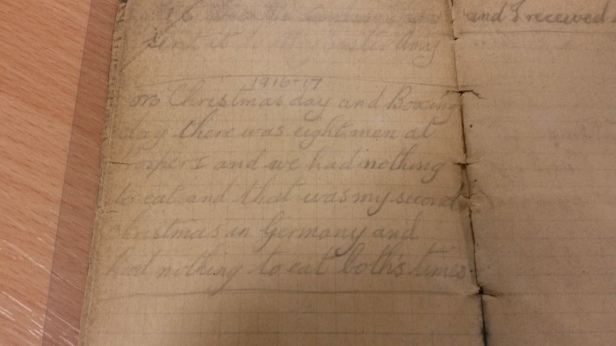 Pvt McgGrath recalls Christmas 1916-7