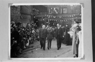 The Royal Visit of the King and Queen to the Walker Brothers Ltd, Wigan, 1965, PC2009.574