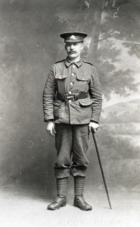 Mch Reg soldier 1917