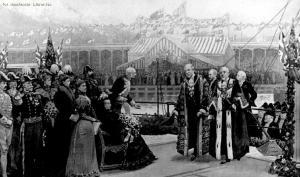 queen victoria MSC opening 1894