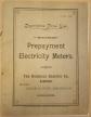 Descriptive Price List for Watson Prepayment Electricity Meters