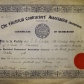 W.D. Watson's Certificate of Membership to the Electrical Contractors Association
