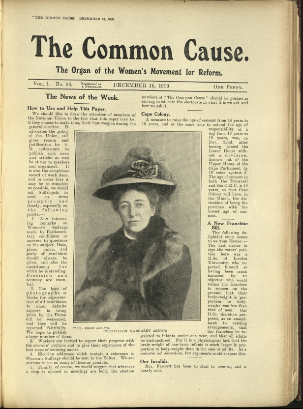 Common Cause Dec 1909