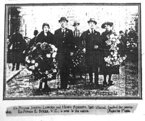 Joseph Lowden at SWM 1921